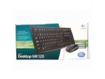 Logitech (MK120) 有線Keyboard+Mouse套裝 - #920-002588