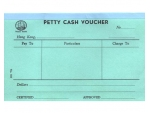 319 傳票 (Petty Cash Vourcher) 12本/包
