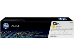 HP CE312A (126A) (原裝) (1K) Laser Toner - Yellow Laserjet Pro CP1025 CP1025nw M175a M175nw M275