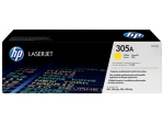 HP CE412A (305A) (原裝) (2.6K) Laser Toner - Yellow