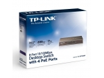 TP-Link TL-SF1008P 8-Port 10/100Mbps Desktop Switch (With 4PoE Ports)