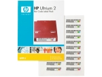 HP Q2002A LTO-2 Ultrium 2 bar code label...