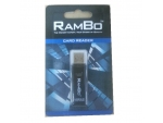 Rambo (2 in 1) TF+SDXC  Card Reader  (US...