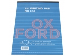Oxford A4 (128) Writing Pad