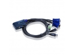 Aten CS62U KVM Switch (2組USB) 多電腦切換器 - 輸...