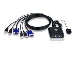 Aten CS22U KVM Switch (2組USB) 多電腦切換器 - 輸...