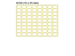 新星牌 New Star Label B103 (橢圓 16 x 25 mm) ...