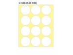 新星牌 New Star Label C108 (圓形 47 mm) 180個/...