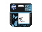 HP 3YM55AA (67)(原裝)(100pages) Ink Tri Co...